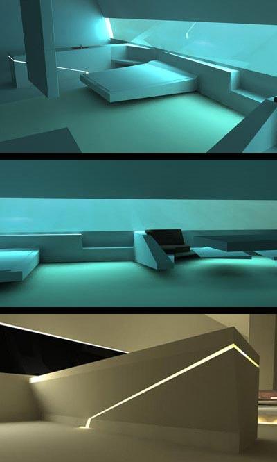 Hydropolis vue des chambres